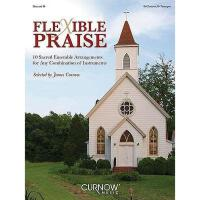 【预订】Flexible Praise Descant B Flat: 10 Sacred Ensemble