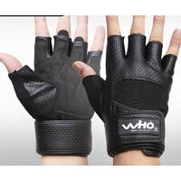 男女健身训练运动手套半指哑铃举重手套 运动护具护腕