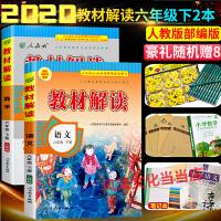 小学教材解读六年级下册语文数学全套2本人教版RJ2020春