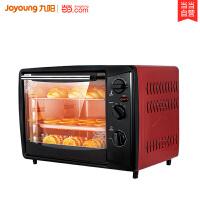 九阳(Joyoung) 家用电烤箱30升/L面包蛋挞多功能大烤箱上下控温KX-30J01 红色