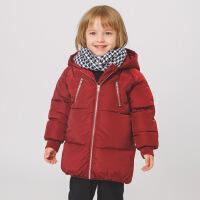 男童中长款棉衣冬装儿童棉袄童装宝宝外套小童1岁3冬季0保暖