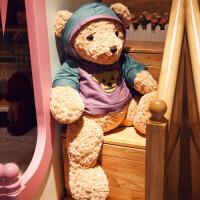 公仔卫衣暴力熊毛绒玩具布娃娃儿童抱枕抱抱熊生日礼物