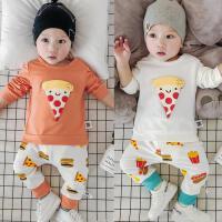 婴儿春秋季套装宝宝上衣+裤子9可开档5新生儿7外出服0-3-6-12个月