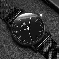 新款网带非机械手表男学生简约潮流休闲学生石英女表