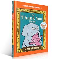 【全店300减100】英文原版绘本The Thank You Book 小象小猪 谢谢你 吴敏兰 elephant an
