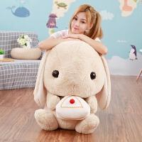 兔子毛绒玩具大号垂耳兔公仔布娃娃儿童玩偶抱枕可爱生日礼物女生