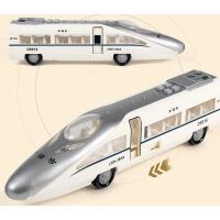 可开门列车动车惯性车男孩儿童玩具车和谐号火车玩具模型