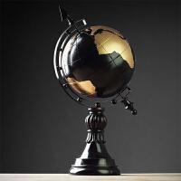 欧式地球仪摆件客厅办公室桌面摆设创意书房美式家居装饰品工艺品