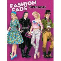 【预订】Fashion Fads Paper Dolls