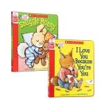 【发顺丰】英文原版 Snuggle Bunny I Love You Because You're are You 2