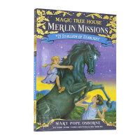 神奇树屋 梅林的任务 英文原版童书 Magic Tree House Merlin Missions 21: Stal