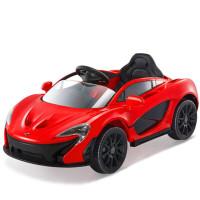 新款可坐人儿童电动车双驱炫酷迈凯伦跑车四轮可坐宝宝汽车儿童双驱赛车男女宝宝节日礼物