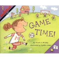 【预订】Mathstart Time Game Time: Student Reader