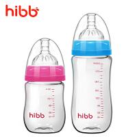 硅胶奶嘴用品套装 玻璃奶瓶婴儿宽口径宝宝喝水