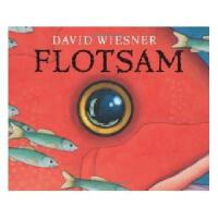 Flotsam 英文原版儿童书 流浪的照相机(凯迪克金奖绘本,又译《海底的秘密》精装)