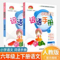 教学练 小学语文词语手册 六年级 上册+下册 共2本 配人教版教材