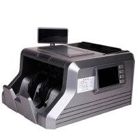 支持2015人民币得力3906A双屏幕语音点钞机 验钞机