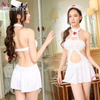 【久朝货到付款】情趣内衣性感束胸式女成人护士套装极度诱惑女骚制服角色扮演7985