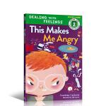 【顺丰速运】英文进口原版 This Makes Me Angry 这样会让我愤怒 儿童情绪管理绘本 3-6岁 心理健康