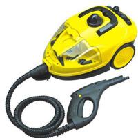 家用时尚高温高压蒸汽清洁机拖把厨房油烟机清洗机器汽车桑拿贴膜挂烫机 黄色