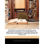【预订】The Science of Mechanics: A Critical and Historical Acc