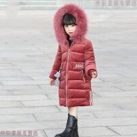 女童2019新款韩版儿童金丝绒棉衣女孩棉袄洋气童装冬装外套潮