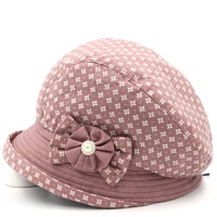 春秋帽子女士贝雷帽时尚妈妈帽中老年女帽春季遮阳帽老人帽奶奶帽 可调节