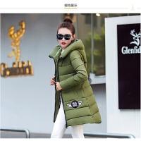 季羽绒棉衣女中长款韩版修身显瘦大码可爱外套学生中款 2X