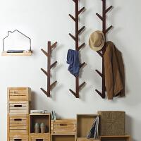 墙上挂衣架创意玄关卧室房间墙壁衣帽架壁挂日式装饰挂钩