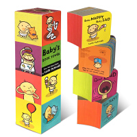 英文原版绘本 Baby's Book Tower 宝宝认知塔书培养行为习惯纸板书Leslie Patricelli b