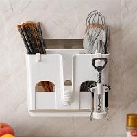 创意生活小用品日用品韩国新房子家居用品厨房收纳用具灶台免打孔 筷笼