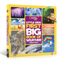 英文原版 美国国家地理Little Kids First Big Book of Weather 天气系列启蒙5-8-