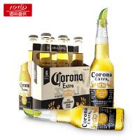 【1919酒类直供】CORONA/科罗娜啤酒 330ml*24瓶 墨西哥原装进口整箱装