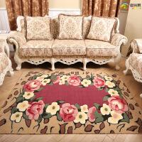 简约现代时尚地毯客厅沙发茶几地毯家用房间卧室满铺床边机洗地毯