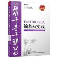 疑难千寻千解丛书 Excel 2013 VBA编程与实践9787121263965电子工业出版社罗刚君、章兰新、陈国