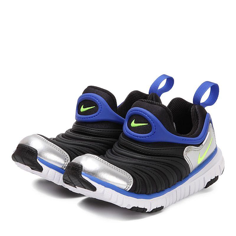 耐克(Nike)童鞋毛毛虫运动鞋 经典跑步鞋 男童女童 轻便防滑 343738-012注意:清仓产品,鞋盒存在破损