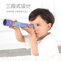 MiDeer弥鹿儿童望远镜三段式伸缩单筒望远镜男孩女孩玩具科学实验