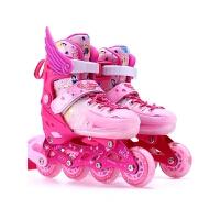 男女初学者溜冰鞋3-10岁儿童全套装直排轮滑鞋旱冰鞋