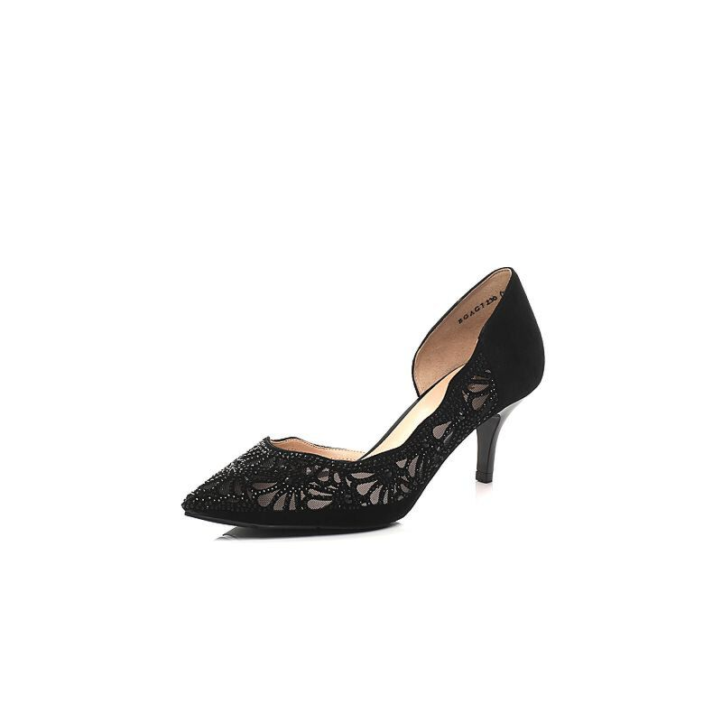 Belle/百丽2017春季专柜同款羊绒皮女凉鞋BGAG7AK7