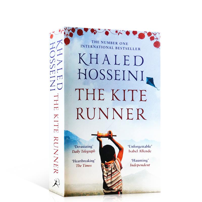 追风筝的人 英文原版小说The Kite Runner 原版书籍 卡勒德.胡赛尼 灿烂千阳 群山回唱作者 现代文学小说图书Hosseini正版