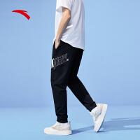 【到手价187】【商场同款】安踏运动裤男2021夏季新款透气轻薄九分裤152128304