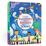 顺丰发货 英文原版科普 Usborne Lift The Flap About Science 问与答之科学 立体书