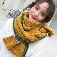围巾女冬季韩版百搭学生披肩秋冬两用针织毛线长款加厚少女围脖套