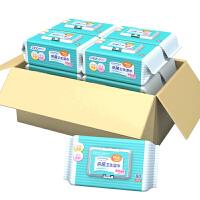 可爱多芦荟保湿卫生湿巾25片* 6包 加盖湿纸巾