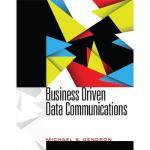 【预订】Business Driven Data Communications
