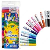 Crayola绘儿乐 16色可水洗短杆粗头马克笔 水彩笔套餐组58-8703