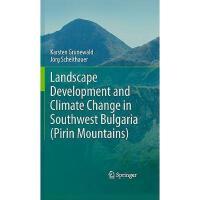 【预订】Landscape Development and Climate Change in