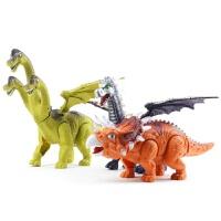 超大号电动霸王龙会下蛋的恐龙玩具遥控行走仿真动物模型男孩儿童创意礼物送情侣生日礼物 褐色蜿龙(生蛋款 配2蛋)