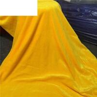 黄布佛堂装饰绒布桌布垫佛台桌围茶叶礼盒金黄色金丝绒布佛教布料