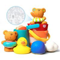 宝宝洗澡玩具儿童花洒漂浮喷水发条小鸭子男女孩婴儿戏水套装